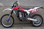 HUSQVARNA TE450, r. v. 2005