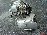 motor HONDA XL 125 enduro, 4takt, vzduchem chlazený